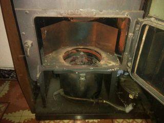 Estufa de gasoil funciona