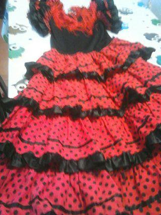 vestido sevillanas