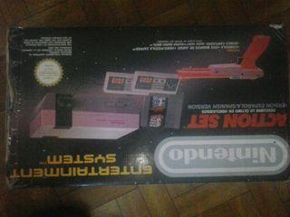 Consola nintendo entertainment system con caja Act