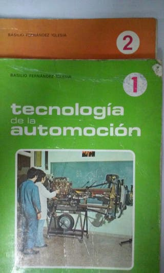 Libros Tecnologia Automocion