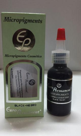 Pigmento micropigmentación