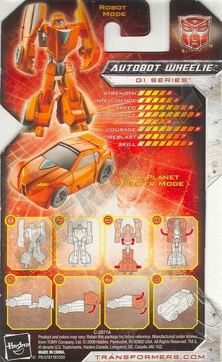 Transformers Universe Wheelie