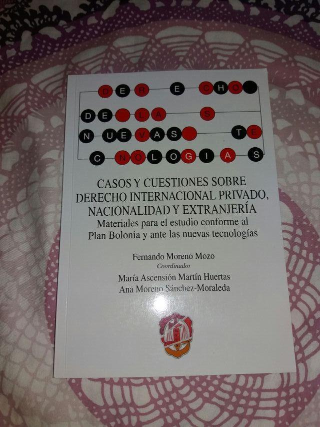 Libro de casos internacional privado