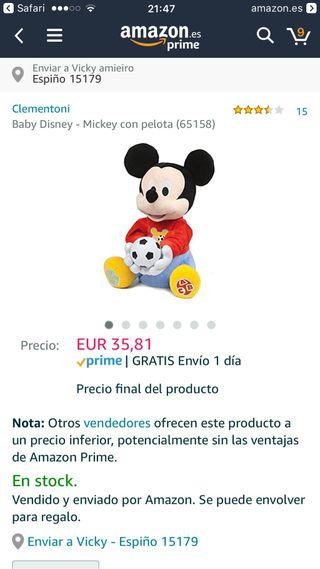 Mickey interactivo