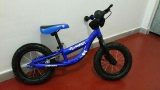 Bicicleta Cónor sin pedales