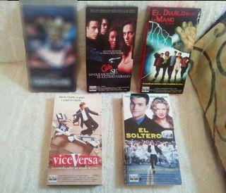 * Pack de 4 Pelis VHS