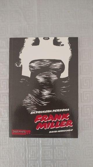 Libro Frank Miller en primera persona