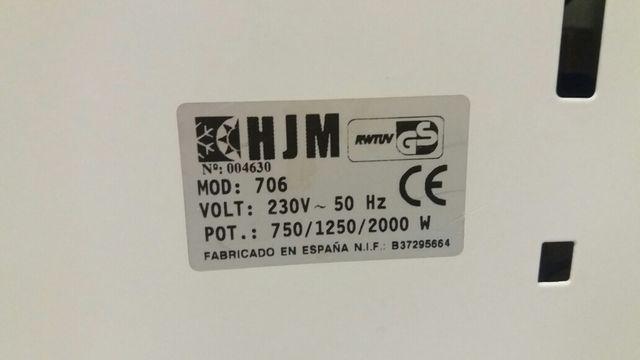 Estufa calefactor radiador eléctrico