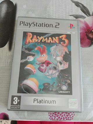 Rayman3 Hoodlum Havoc Ps2 ed. Platinum