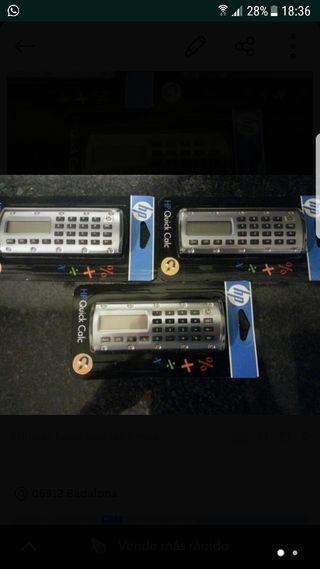 Calculadoras marca hp