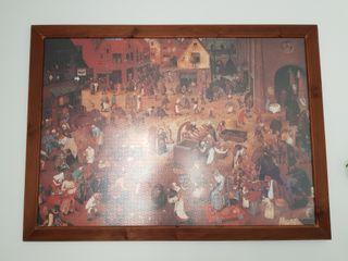 Puzzle de 4000 piezas enmarcado