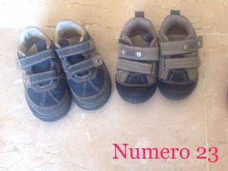 Zapatillas niño num 23