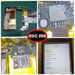 reparacion de fallo wifi Huawei p8 lite