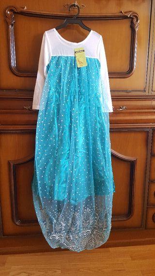 Disfraz Elsa Frozen. 110cm
