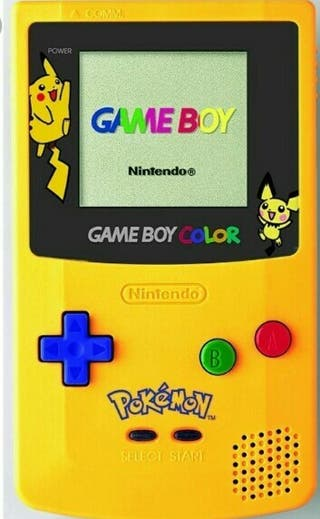 Game boy color edicion pokemon y juegos clasicos