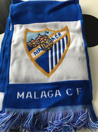 Bufanda Málaga CF