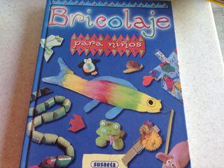 Libro bricolaje para niños