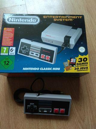 Nintendo Classic mini + mando original