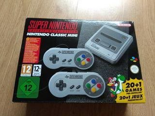 super Nintendo SNES mini classic Nueva