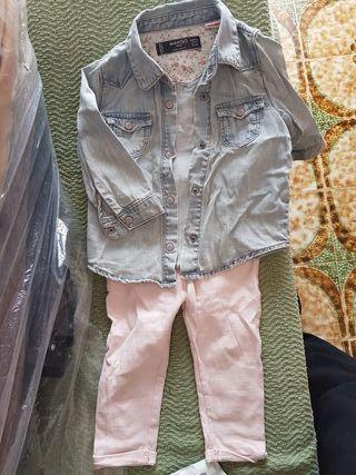 ropa niña 12-18 meses