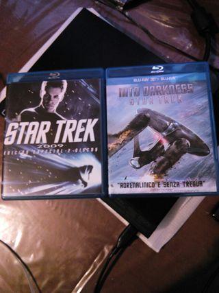 bluray.pack star trek 1 y 2 en 3d de 2 discos