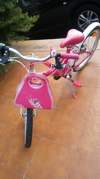 """bicicleta niña color rosa 20"""""""