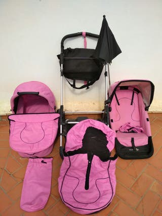 carro bebe firstwheels rosa