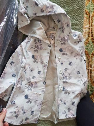 chaquetilla chuvasquero niña 12- 18meses