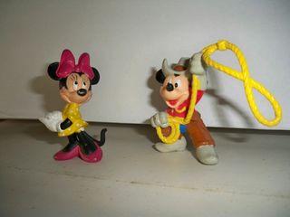 Figuras Mickey y Minnie Disney