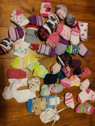 40 pares de calcetines hasta 22