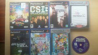 juegos PS2 original
