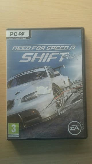 juego pc need for speed shift