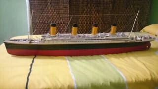 Maqueta titanic escala 1:250
