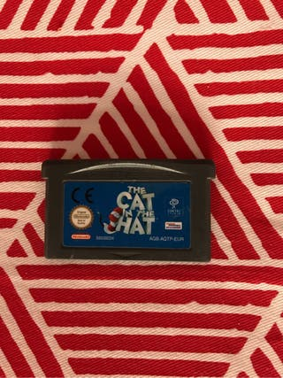 The Cat in the Hat. Gameboy Ad