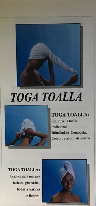 Togas toallas