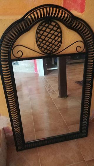 Espejo grande de segunda mano en wallapop for Espejos segunda mano barcelona