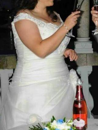 vestido novia gordita