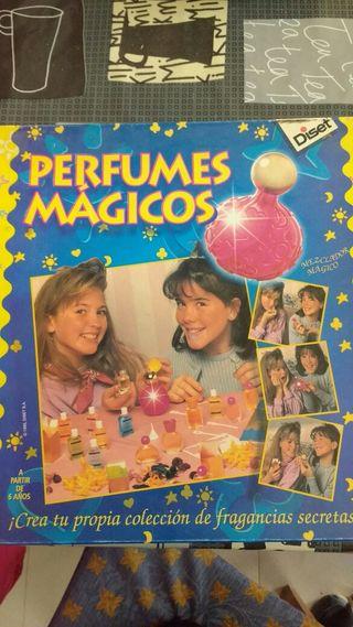 Juego perfumes mágicos