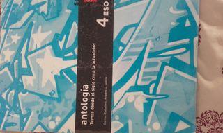libro antología 4 eso