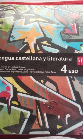 libro lengua castellana y literatura 4 eso sm
