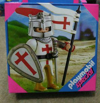 Playmobil caballero cruzado medieval de segunda mano por for Playmobil segunda mano