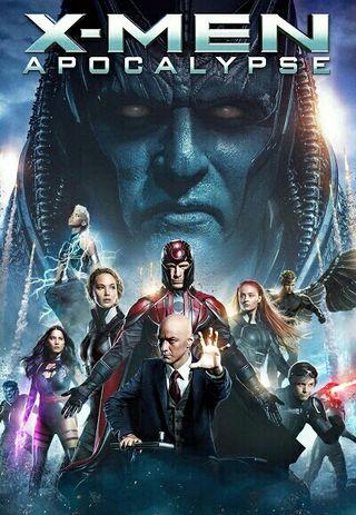 poster x-men 2x1,60