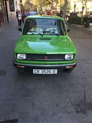 SEAT 127cl 1978 con seguro para todo el año