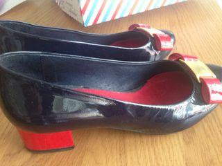 Zapatos charol El ganso