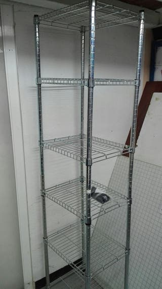 Estanteria cromada IKEA OMAR