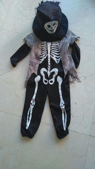 Disfraz Esqueleto Zombie