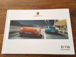 catalogo Porsche 718