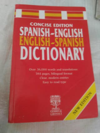 Dictionary : Spanich/ English-English/Spsnich