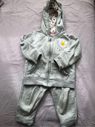 Chandal gris 18 meses