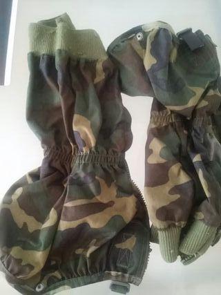 polainas militares